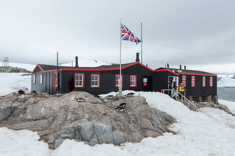 British Research Station. Port Lockroy, Antarctica