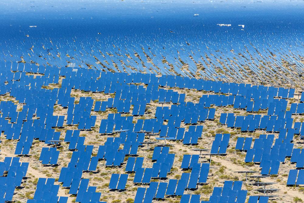Ivanpah Thermal Solar Plant, CA. Study #6 (35,34.1816N 115,27.9056W)