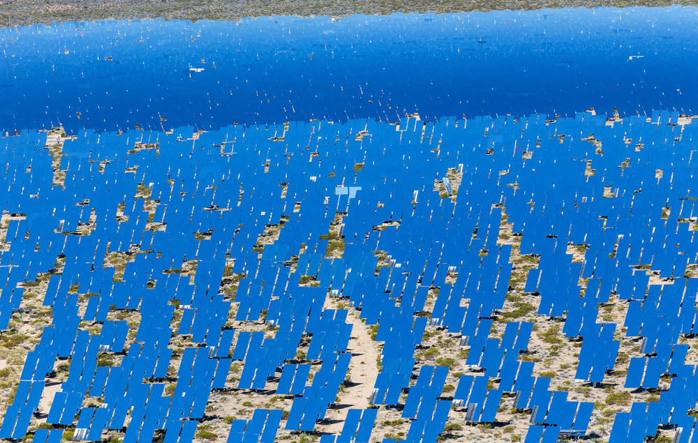 Ivanpah Thermal Solar Plant, CA. Study #5 (35,34.1816N 115,27.9056W)