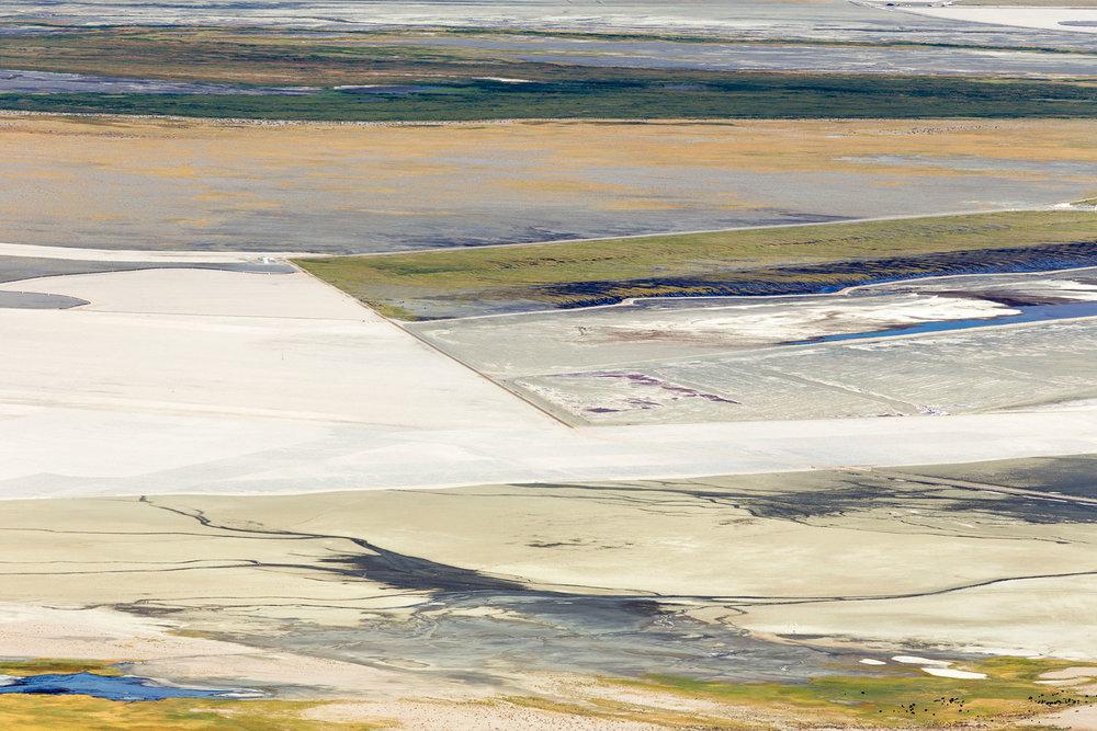 Owens Lake Dry Lakebed. Lone Pine, CA. Study #4 (36,28.7039N 118,4.8783W)