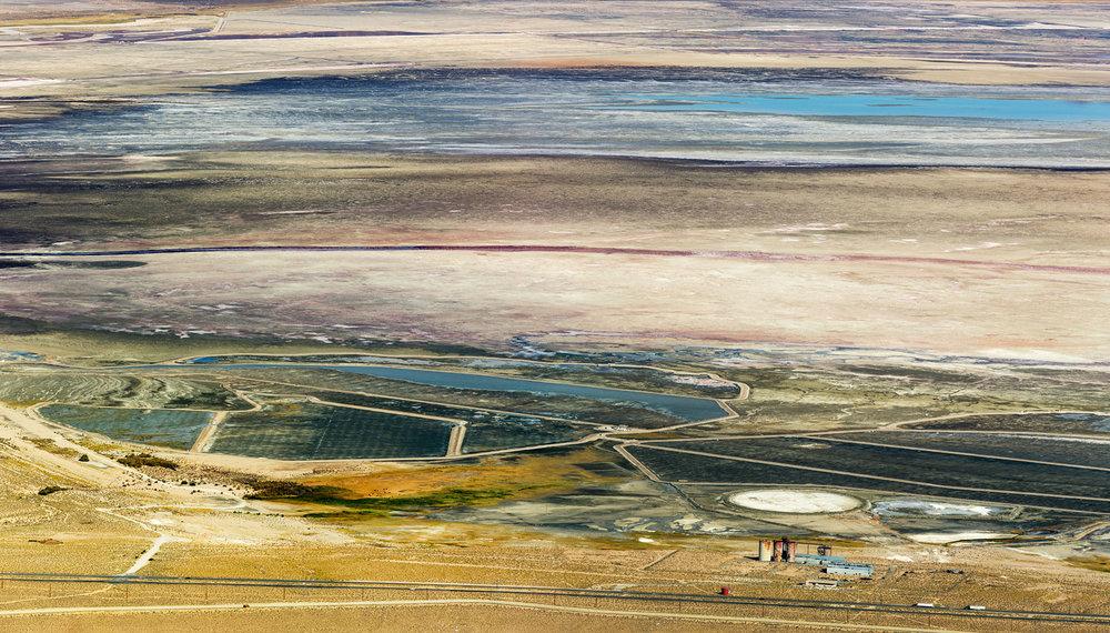 Owens Lake Dry Lakebed. Lone Pine, CA. Study #3 (36,28.7039N 118,4.8783W)