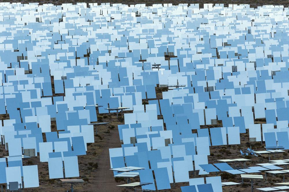 Ivanpah Thermal Solar Plant, CA. Study #21 (35,34.4762N 115,29.6512W)