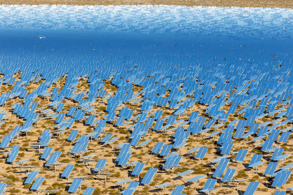 Ivanpah Thermal Solar Plant, CA. Study #25 (35,34.1797N 115,27.9030W)