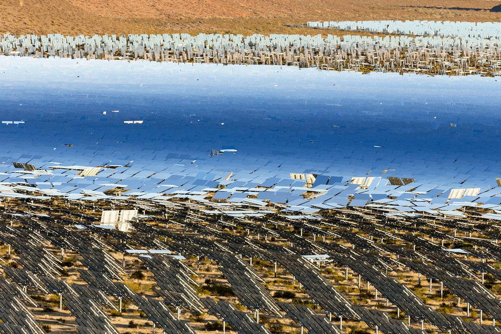 Ivanpah Thermal Solar Plant, CA. Study #30 (35,34.4755N 115,29.6575W)