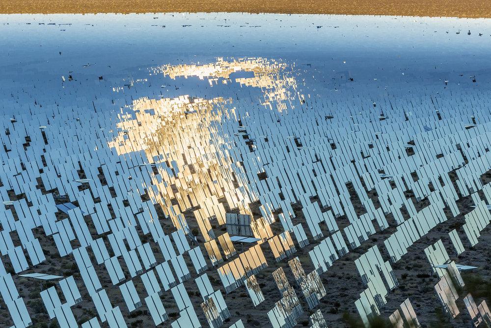 Ivanpah Thermal Solar Plant, CA. Study #31 (35,34.4794N 115,29.6601W)