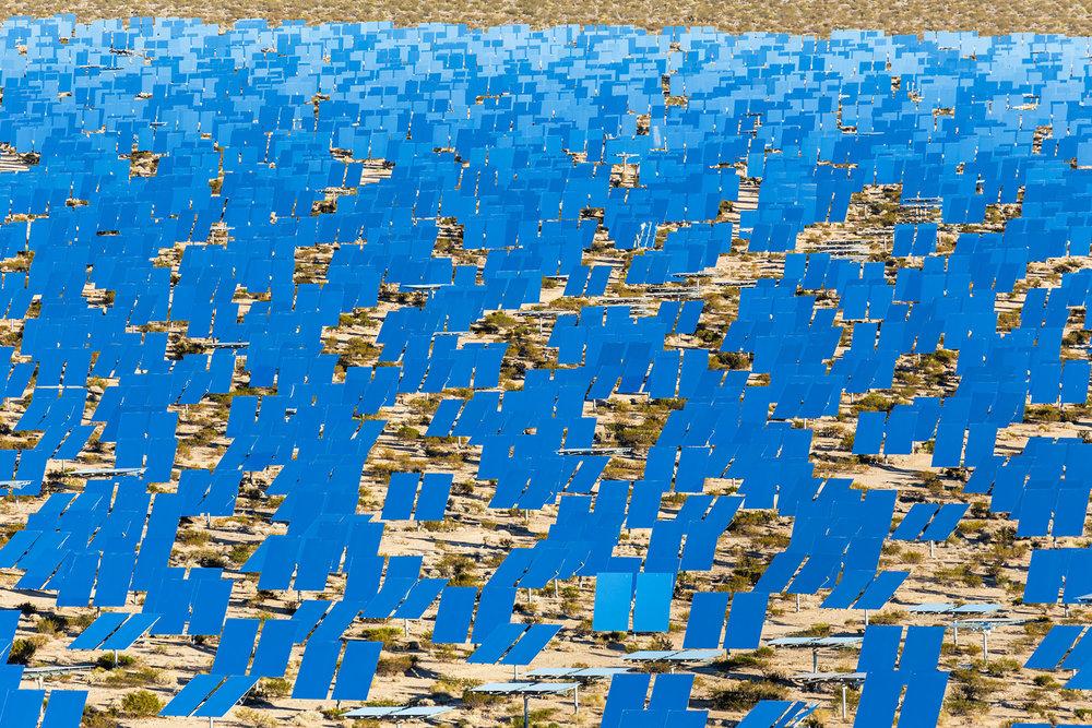 Ivanpah Thermal Solar Plant, CA. Study #27 (35,34.1865N 115,27.9046W)
