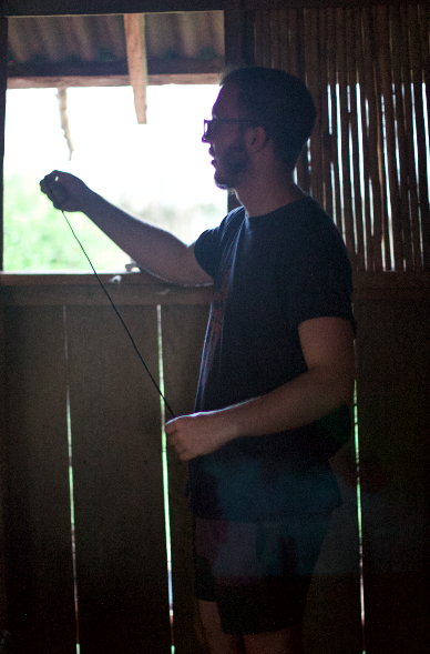 JONATHAN HIGGINS / TROPIC 08°N   Composer and Sound Artist from Surrey. Completed an MA in Sonic Arts at the University of Sheffield. He is currently working on his PhD at City University, London conducting research titled 'The Plasticity of Noise'