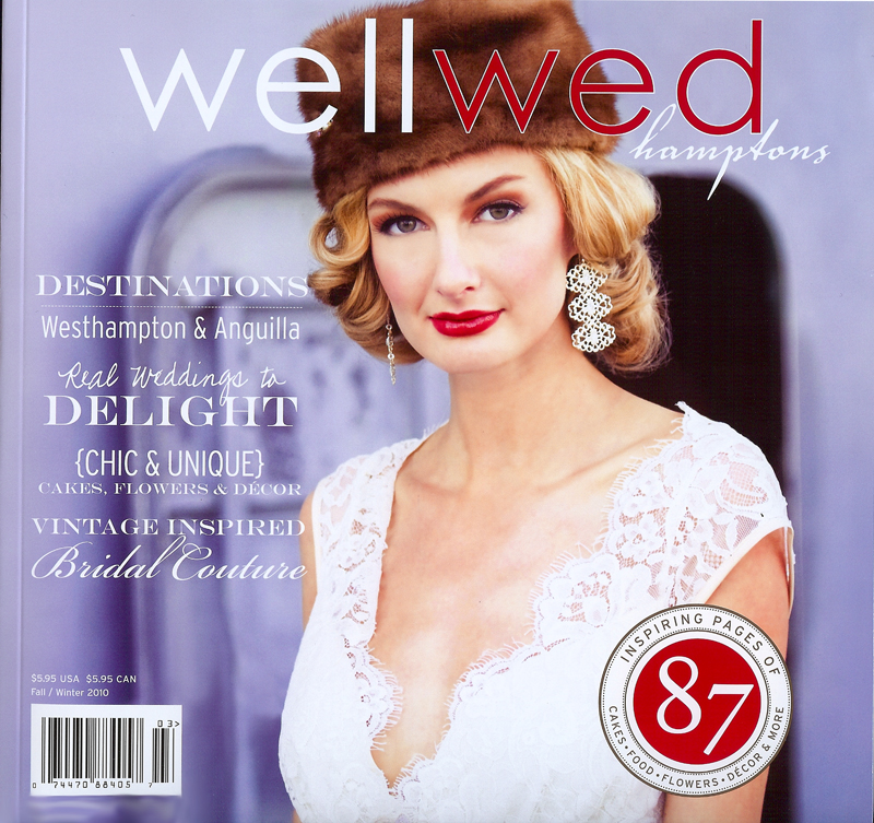 Featured in wellwed  - Bridal Magazine