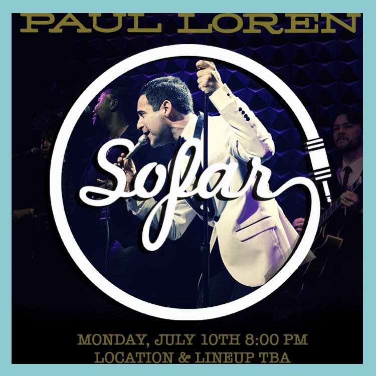 Sofar Sounds Paul Loren
