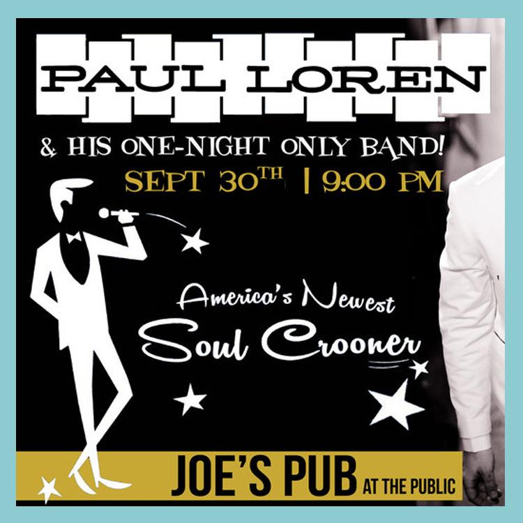 Joes Pub Paul Loren