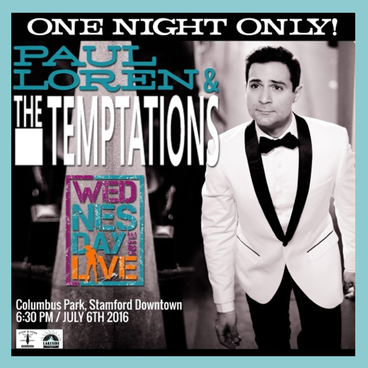 Paul Loren Wednesday Night Live Tempations