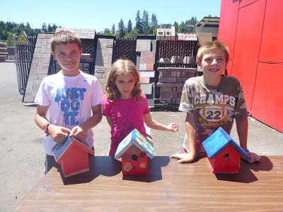 bird house workshop