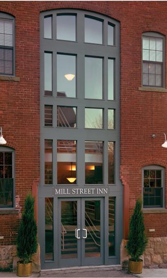 Mill Street inn, Newport