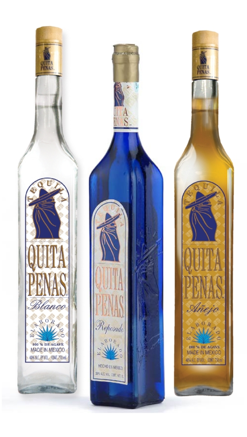 TEQUILA QUITAPENAS  makes sad people happy, rejuvenates the old, inspires the young and makes one forget their weariness and fatigue.