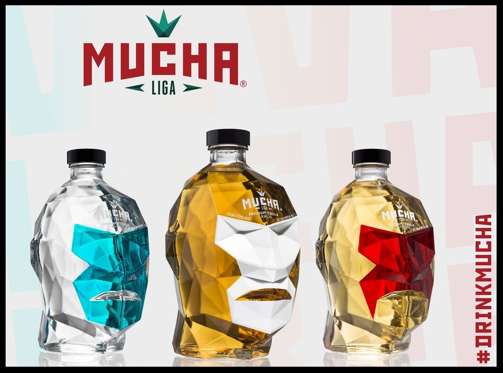 Mucha Liga®  is the thrill of the mexican Lucha Libre. Mucha Liga® is a taste of bravery, strength and tradition, all mixed up inside our unique bottles. A masked bottle that hides the real identity of those who fight everyday to get what they deserve. They are the real luchadores that inspire. Our Agave Is grown under the surveillance of Juanacatlan distillery's farmers, a production model designed to vertically integrate the best from agriculture, human resources to production without hampering the natural and social development of La Ciénega region of Jalisco, soil that meets a high balance of nutrients due to the very few generations of agave harvesting of the area, this factor allows our batches to sample a vast and complex spectrum of flavors and aromas which build a great expression of the relationship among the soil and the flavors associated with the Cienega region where the agave is grown.