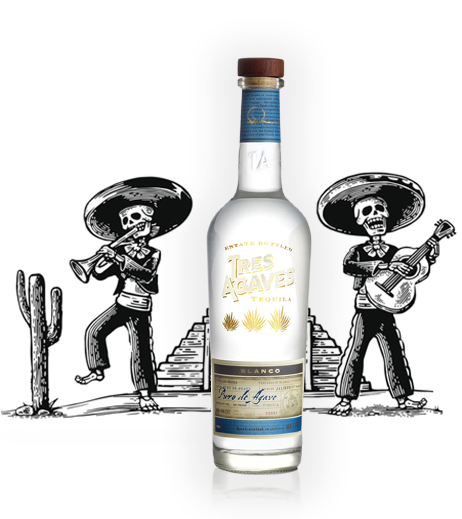 TRES AGAVES BLANCO 6/750ml    Regular Price $19.50    3-Case Deal $17.99    5-Case Deal $16.99