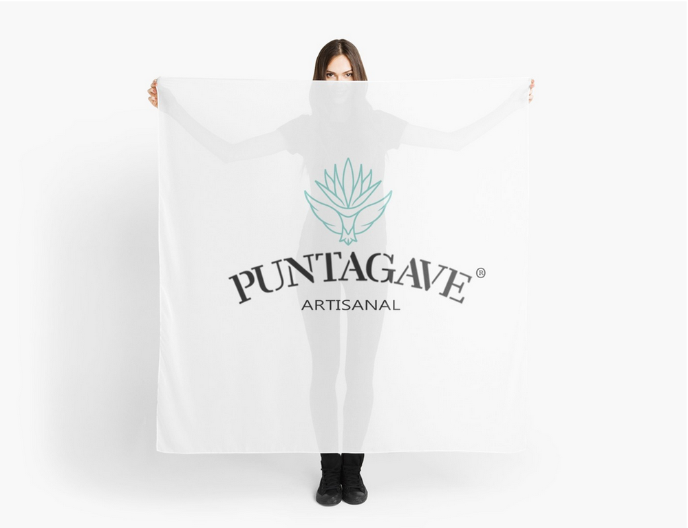 PUNTAGAVE SCARF $22.75 . AGAVE SPIRITS OF MEXICO.  THE ASOM SCARF $22.75.