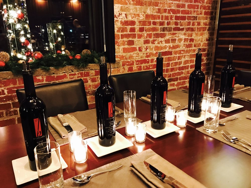 Jeremy and Scott's pre-New Years Wine Dinner!
