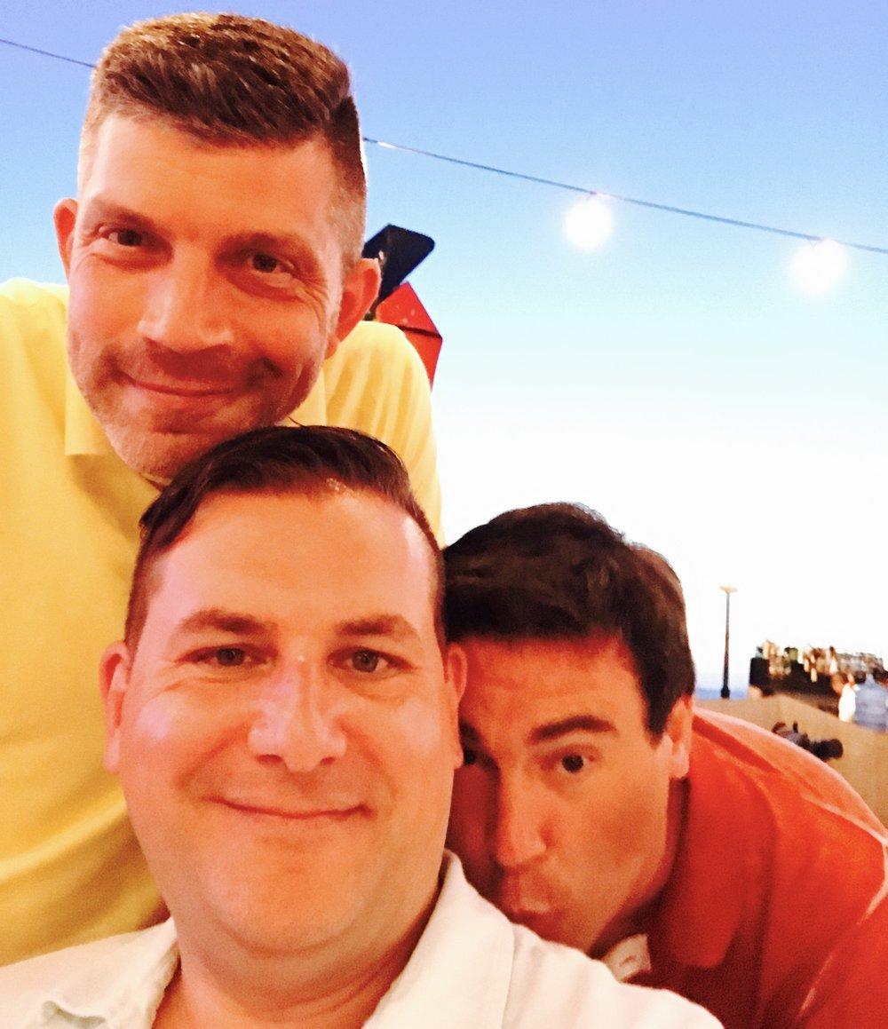 John, Rod, and Scott after muy margaritas