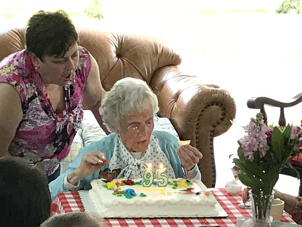 Grandma's 95th Birthday Party