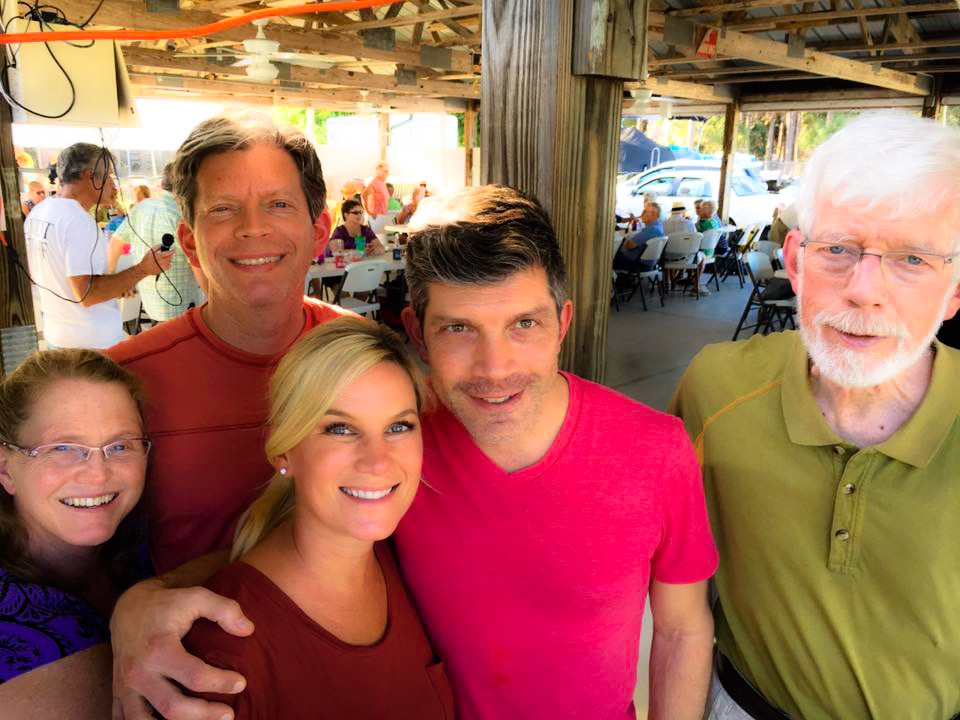 Jennifer, Scott, Kristi, John, and David