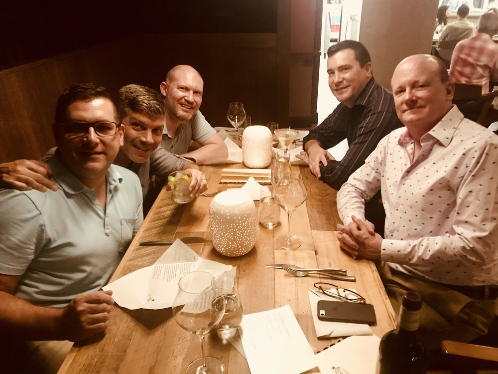 Columbus, Ohio weekend with Rod, John, Jeremy, Scott, and Leonard (Randy was taking the photo)