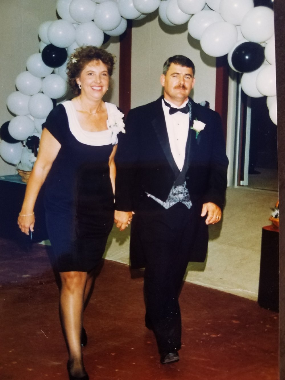Mom and Dad at Robin's Wedding