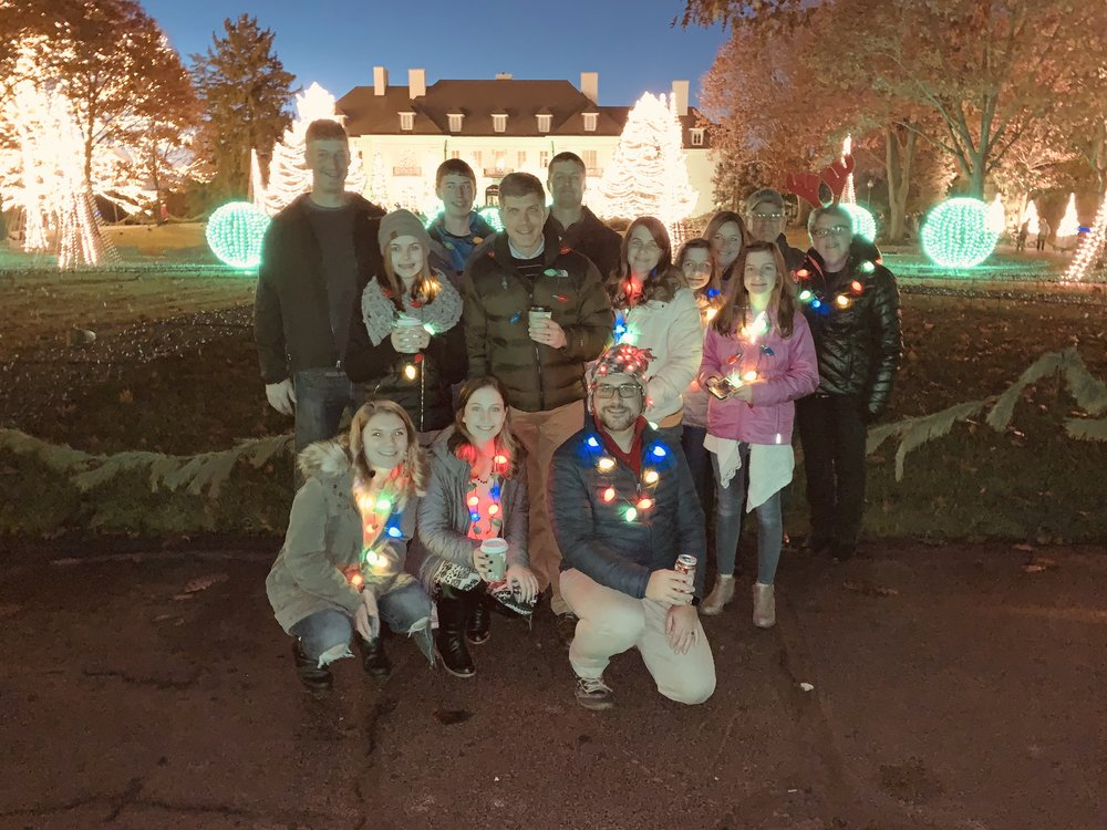 The Collier Clan at Winterlights