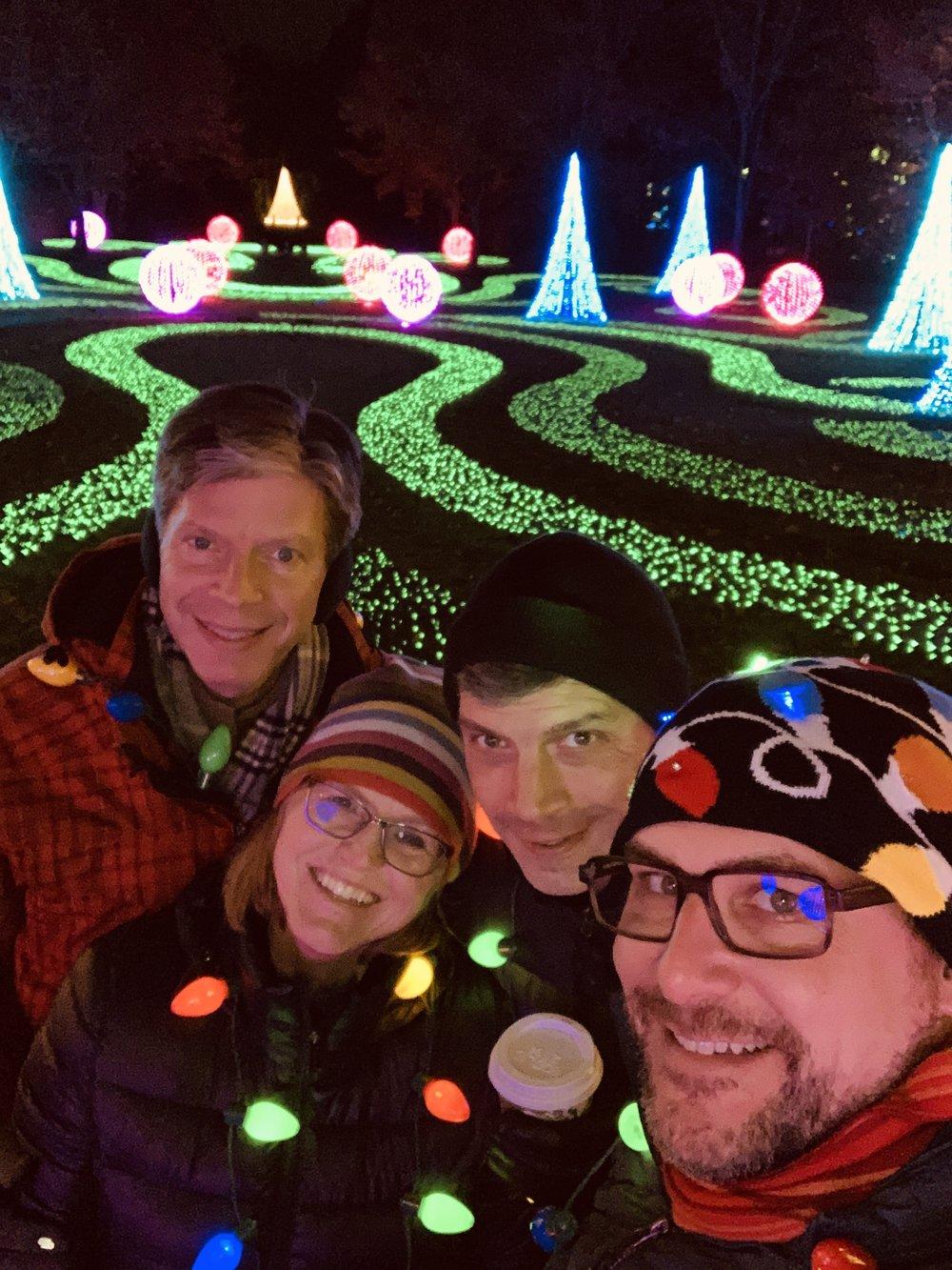 The Strachan Clan at Winterlights