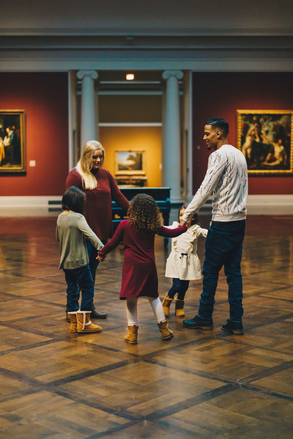 Nashville Tennessee Photographer- Art Museum Family Session 2