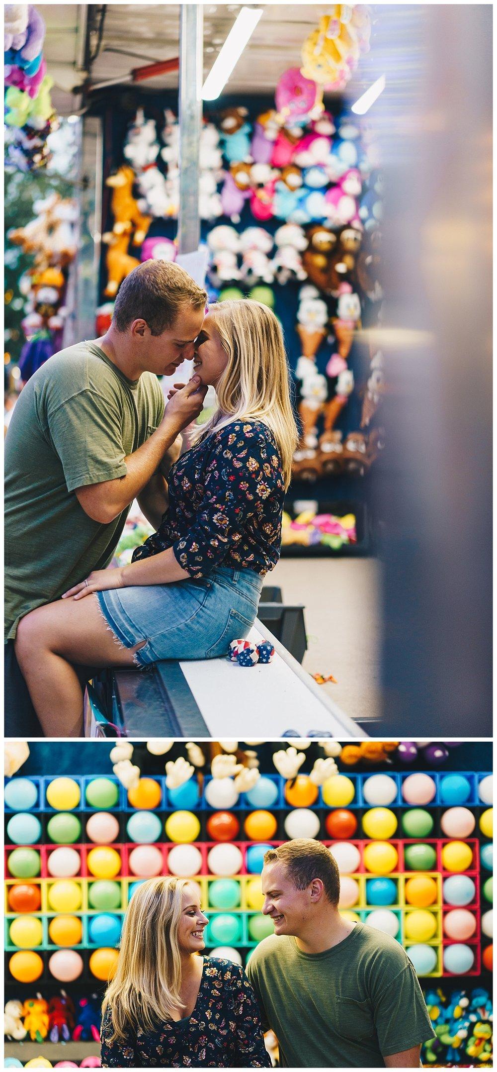 Nashville Wedding Photographer_County Fair Engagement Session