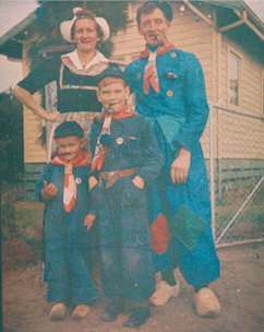 The Lont Family, 1954.