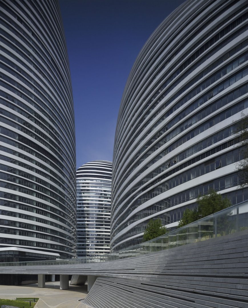 Zaha Hadid Architects - Wangjing SOHO | Beijing, China © Virgile Simon Bertrand
