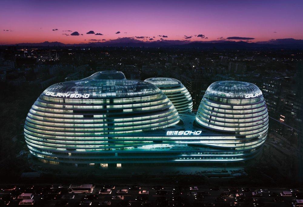 Zaha Hadid Architects - Galaxy SOHO | © Jonathan Leijonhufvud