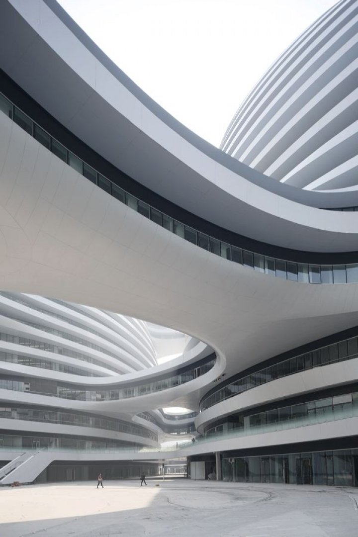 Zaha Hadid Architects - Galaxy SOHO | © Iwan Baan