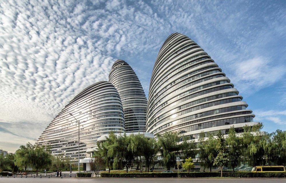 Zaha Hadid Architects - Wangjing SOHO | © Jerry Yin