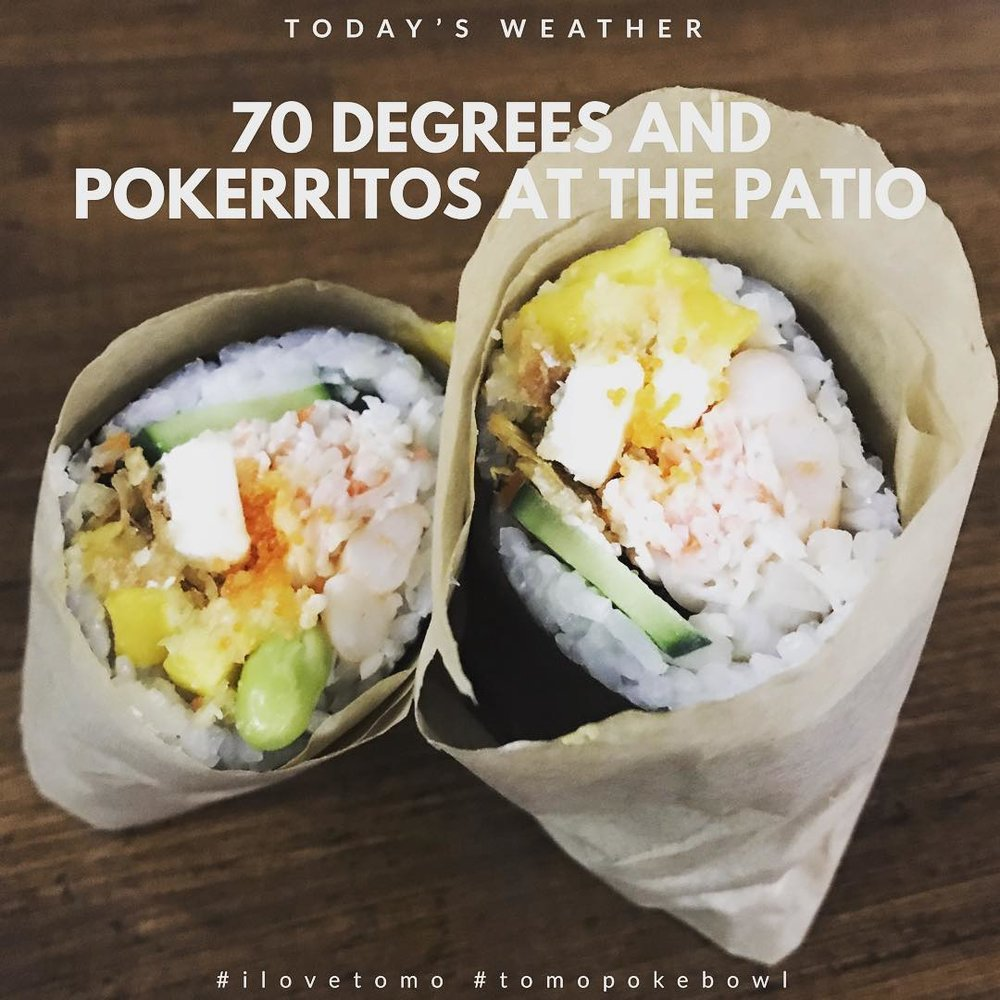create your own pokerrito - https://www.wbir.com/video/life/food/in-the-kitchen-poke-ritos/51-223ae385-757a-4410-82f3-fc1462a4f754