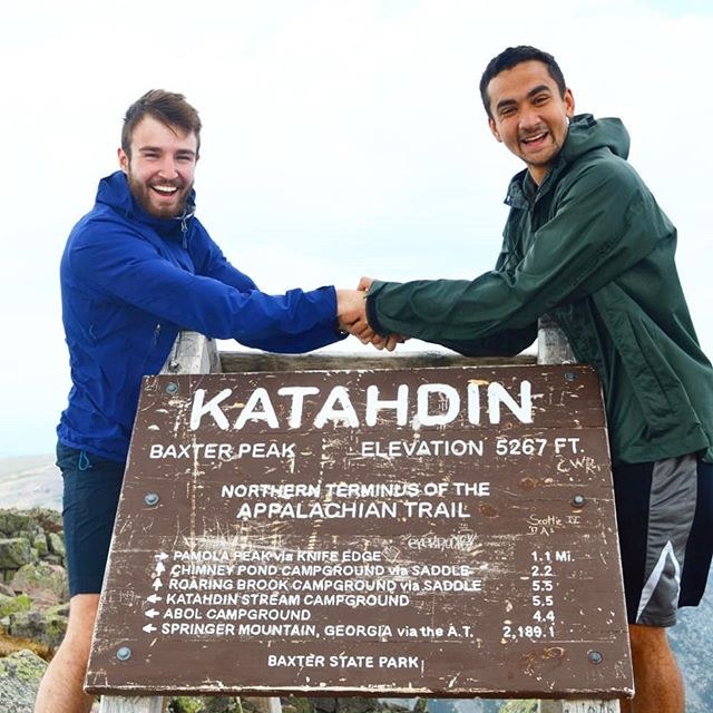 Backpacking 100 miles of the Appalachian trail was the perfect send-off for Dylan, who's joining the peace corps in Columbia. It was one of the most physically and mentally challenging weeks of my life, but I know I'll remember it forever.  Summit of Katahdin - mile 100 Summit of Whitecap - mile 50