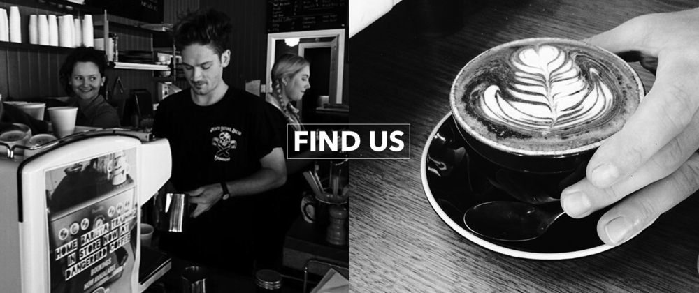 Find Dangerbird coffee near you...