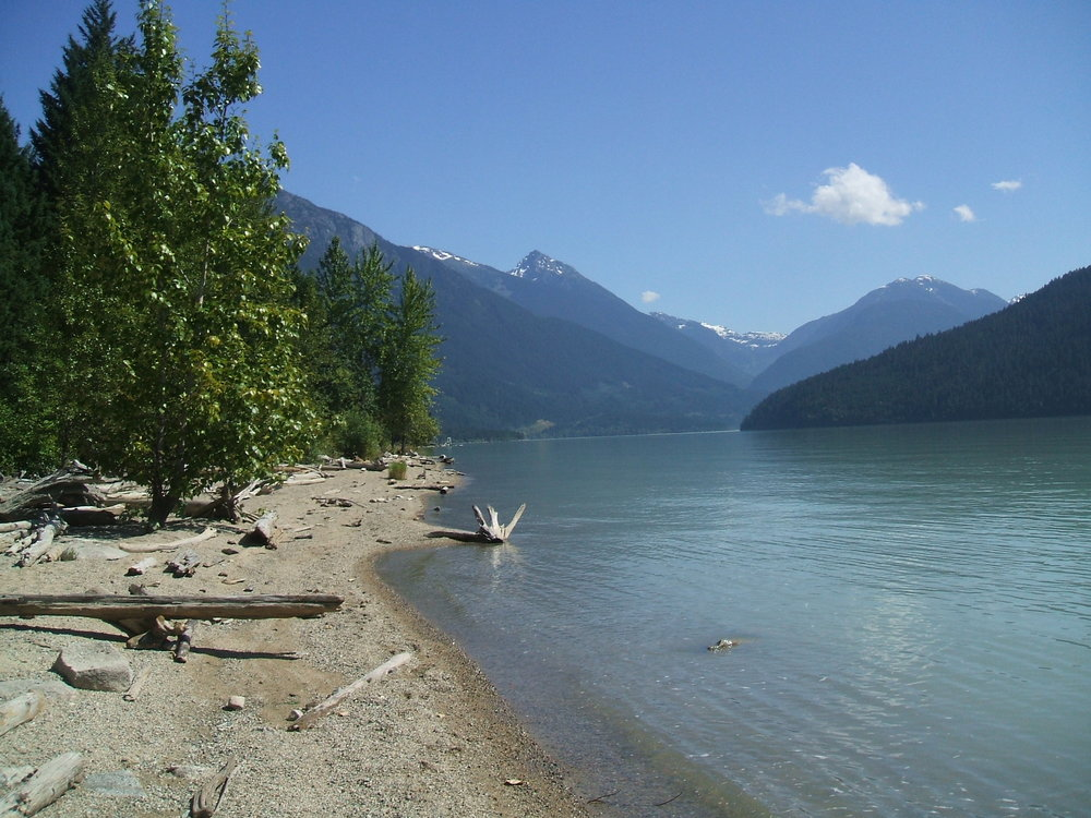 Photo: Ministry of Forests, Lands and Natural Resources, Strawberry Point (Lillooet Lake)