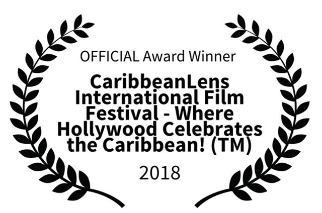 We officially became an Award winning film. Thanks @caribheritage and the entire crew.