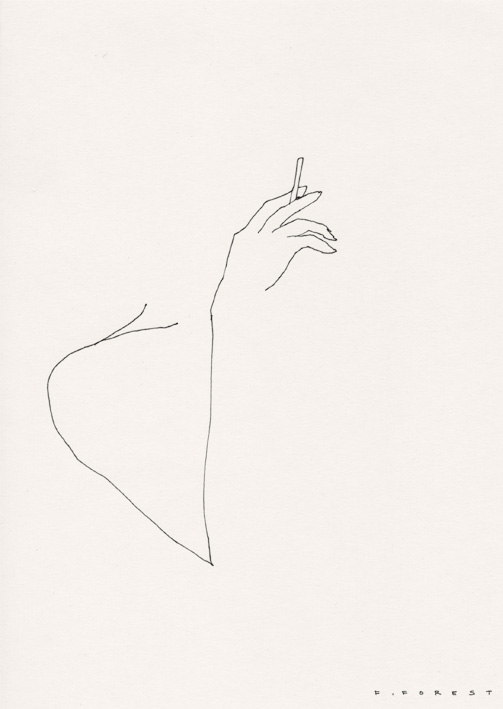FForest_Drawing_WomanSmoking#1.jpg
