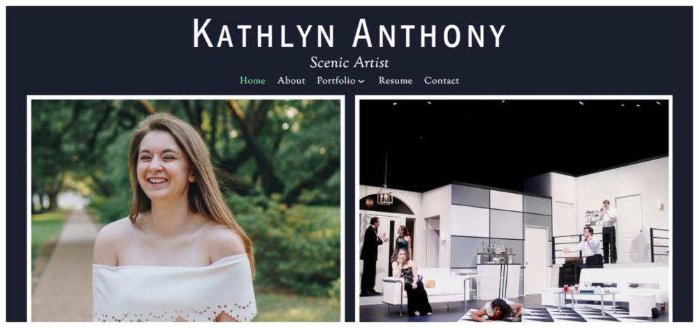 Kathlyn Anthony's Portfolio