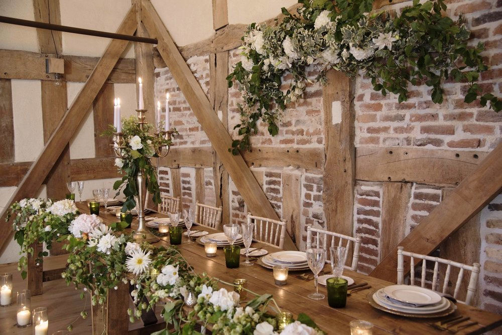 WEDDINGS - Be inspired by this idyllic place, and start to picture how your wedding might look at our luxury barn venue.