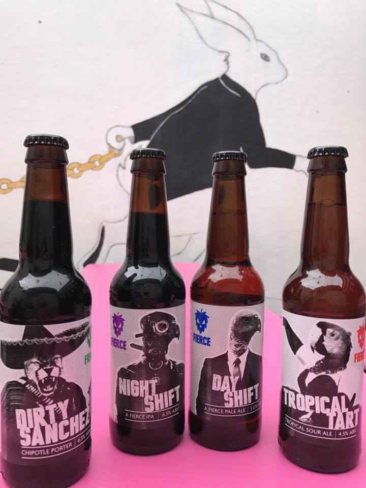 Our fave brewery Mad Hatter Brewing have done it again... With this zingy stout... For something so dark and twisted... The raspberry top bite brings out something so light and sweet in this cheeky number!!!