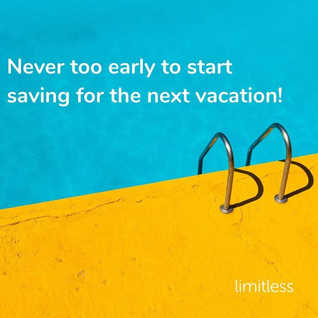We are already halfway through #summer 😢 Have you already been on #holiday or are you still planning one? Either way, it's never too early to start saving for your next #vacation! Limitless is currently available for all #bunq premium users - download now and let us help you save effortlessly. #startsmall #startnow #saving #savingsgoals #bunquers #fintech #startup