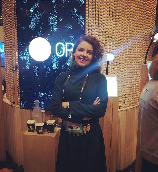 Come and visit us and @sarakoslinska at the OP stand today at @slushhq! #event #startup #fintech #slush100 #slush18