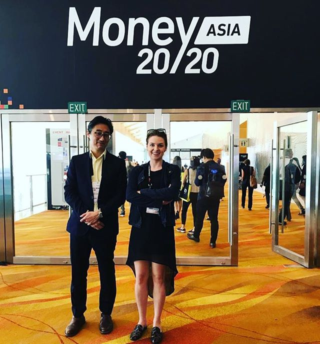 As always, amazing experience to be here at @money20_20 . Don't miss the opportunity to listen to our pitch tomorrow at 11am where we will reveal our latest feature 🚀 #money2020asia #money2020 #pr #startup #fintech #startuplife