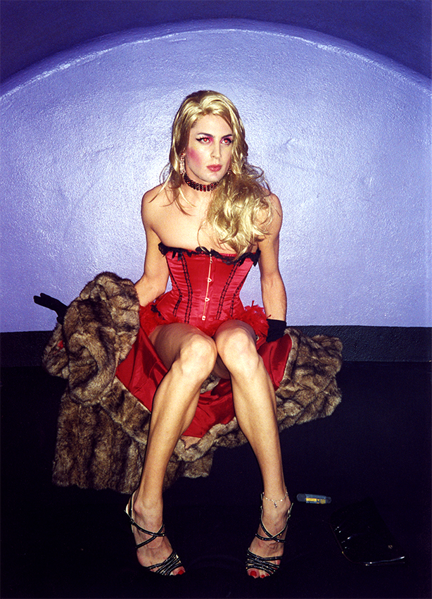 The red corset