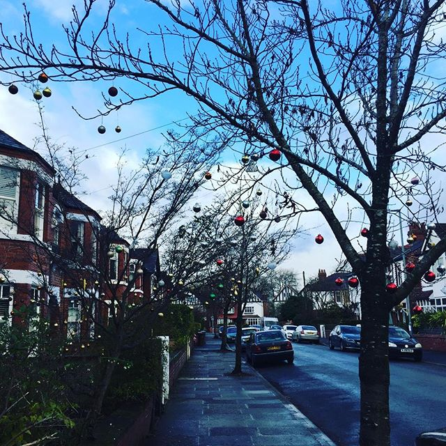 Nicolas Rd looking suitably festive this afternoon 🌟